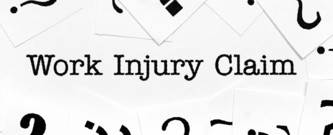 do you have a work injury claim