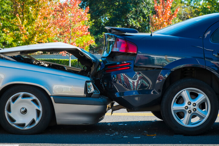 Rear end car accident in Dallas, TX settles for 60k