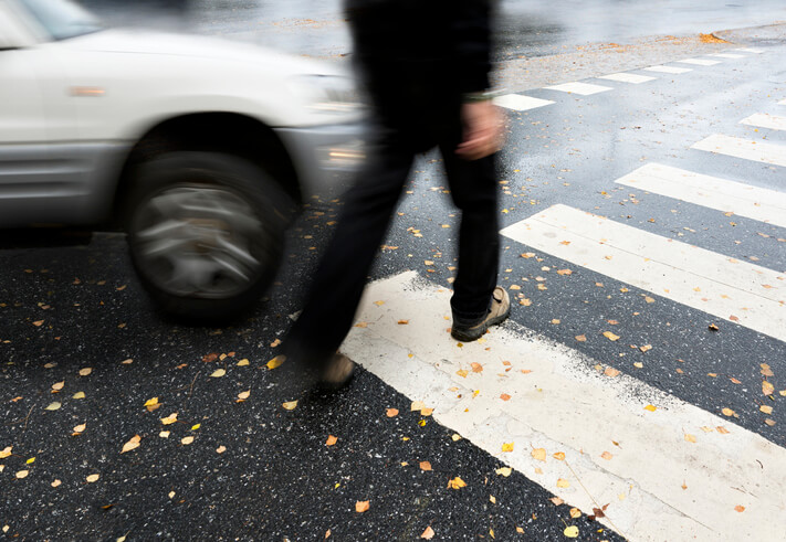In-Depth Data Shows How Pedestrians Get Injured in Car Accidents
