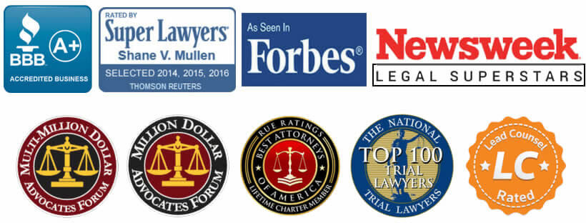 Awards & Memberships Logos for Mullen & Mullen Law Firm