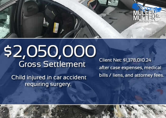$2,050,000 Settlement for Car Accident Injury