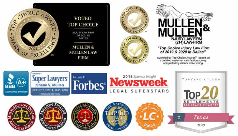 Awards & Recognition for Our Dallas Personal Injury Law Firm